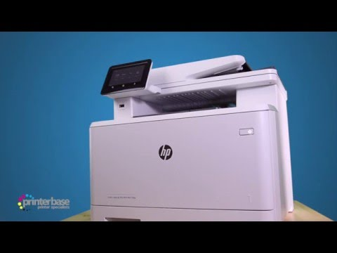HP LaserJet Pro M477FDW Colour Multifunction Laser Printer Review | printerbase.co.uk