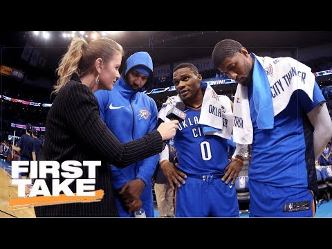 First Take analyzes what Thunder win vs.  Knicks means for Warriors   First Take   ESPN