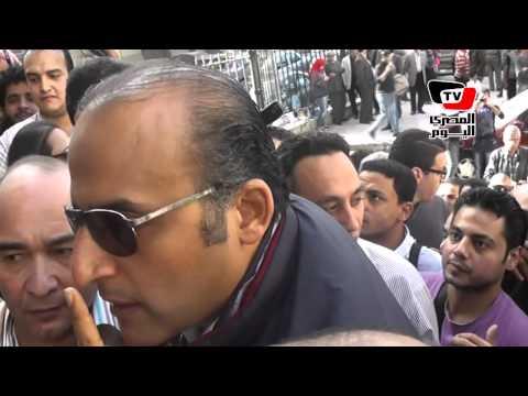 الأمن يمنع الصحفيين من الدخول للنائب العام ويسمح لأنصار رئيس نادي الزمالك