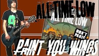 All Time Low - Paint You Wings Guitar Cover & SOLO (w/ Tabs)