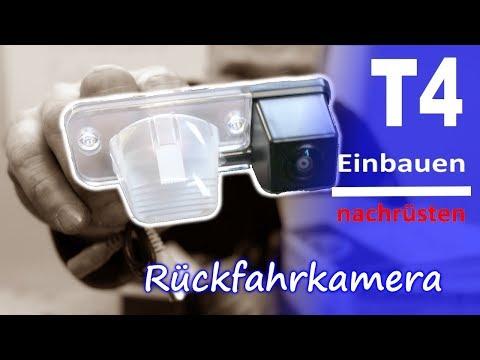 T4 Rückfahrkamera einbauen Kamera nachrüsten Projekt T4