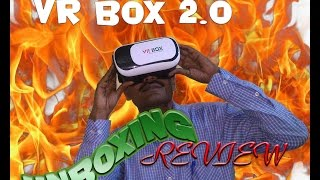 VR BOX 2.0 unboxing and Review in Hindi with QR CODE