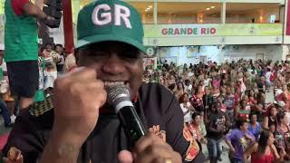 GRANDE RIO 2020: ARRANCADA DO SAMBA NO ENSAIO DE QUADRA