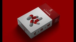 Product Packaging Design Tutorial In Photoshop - (Box Package)