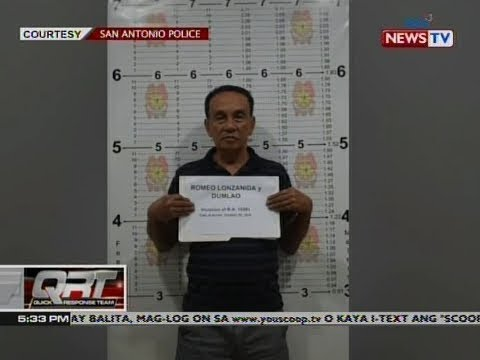 [GMA]  QRT: Dating San Antonio Mayor Romeo Lonzanida, arestado sa kasong illegal possession of firearms