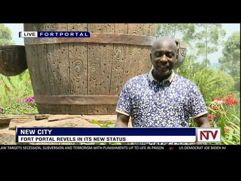Fort Portal revels in its new status