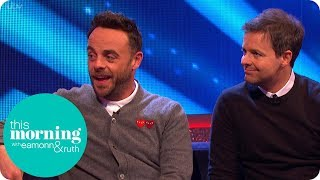 Ant & Dec's Saturday Night Takeaway is a 'Dream Come True' | This Morning