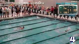 Rochester coed Varsity Swimming @ Zionsville