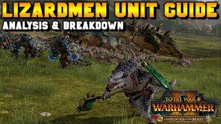New Lizardmen Units Guide - Spirit of the Jungle + Itza (Gor-Rok)| the Hunter and the Beast DLC