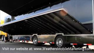Mobile Event Marketing Trailer - Set Up Expandable Wall!
