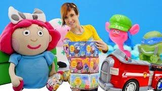 Игры для детей Капуки Кануки: Шоколадные шары ЧУПА ЧУПС 🎉 видео с игрушками ПРО СЮРПРИЗЫ 🎁