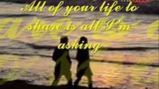 All of my life (Lyrics) diana ross