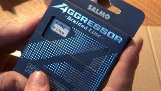 Плетеная леска салмо агрессор