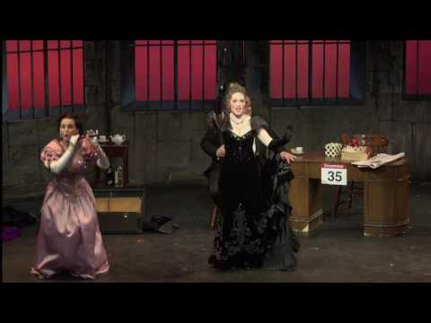 """Amore Opera's """"Die Fledermaus"""" Haley Marie Vick as Adele January 28th, 2016 Jean Baptiste Theater, NYC Video by Jay Gould"""