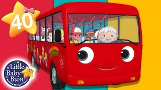 Wheels On The Bus - Part 18 | + More Nursery Rhymes & Kids Songs | Songs for Kids | Little Baby Bum