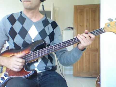 L231 G slap bass with fast pulloffs