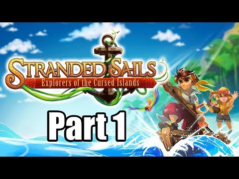 Gameplay de Stranded Sails Explorers of the Cursed Islands