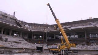 ევრობასკეტი 2022 - დარბაზის მშენებლობა