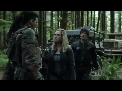 """Bellarke: """"Being Clarke"""" + """"No one gets out"""" + Bellamy being Bellamy and gets out (The 100: 04x06)"""