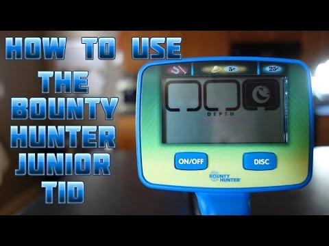 Bounty Hunter Junior Target Id Metal Detector Shop Features