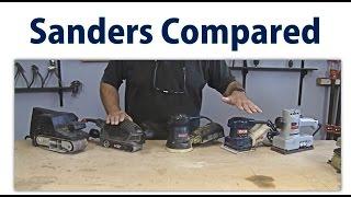 Wood Sander Overview  Beginners 12   Woodworkweb