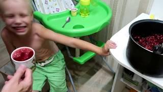 РЕАКЦИЯ ДЕТЕЙ НА 100% ВИШНЕВЫЙ СОК