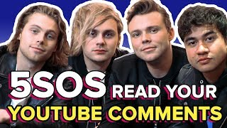 5SOS Read Your Weird AF YouTube Comments | PopBuzz Meets