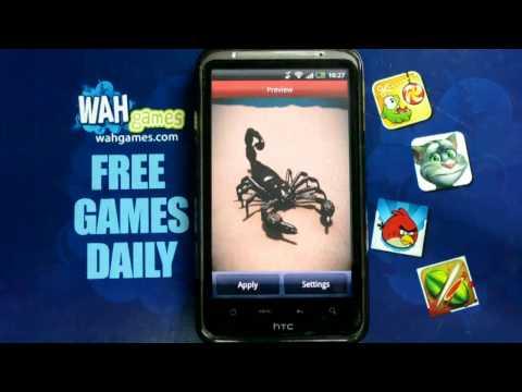 Video of Scorpion Free live wallpaper