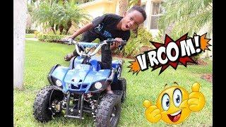 Driving My ATV 4 WHEELER To The Park