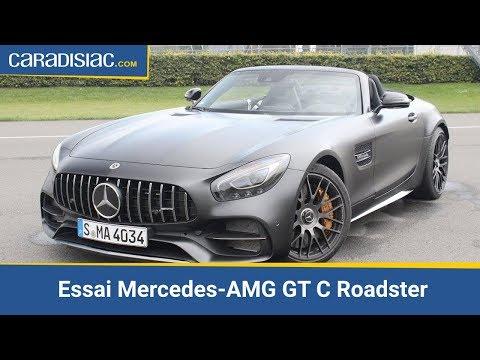 Mercedes-benz AMG GT Roadster - AMG GT Roadster 4.0 V8 557ch GT C