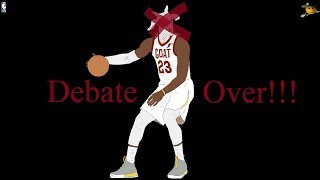 Michael Jordan will Always Be The Greatest of All Time (Jordan vs James) Debate Over!!!