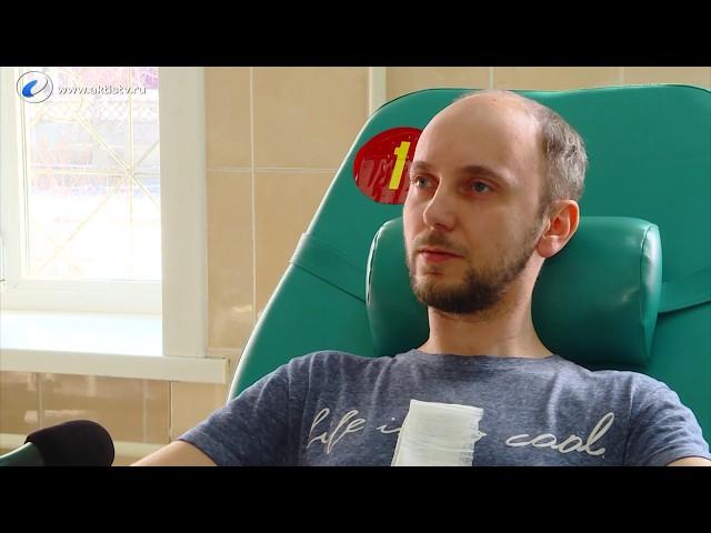 Молодых медиков призвали сдавать кровь!