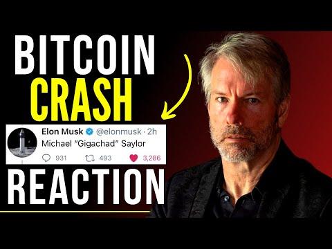 Bitcoin block piak crash