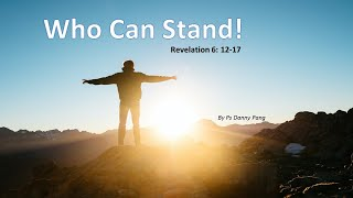 Ps Danny Pang – Who can Stand
