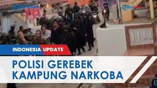 Gerebek 'Kampung Narkoba' di Muratara, Polisi Amankan 18 Orang Termasuk Kepala Desa Surulangu