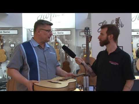 Höfner Stahlsaiten Gitarren Neuheiten Musikmesse   Prolight+Sound 2018 (deutsch)