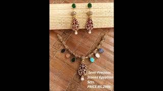 Beautiful Egyptian Jewellery Semi Precious Stones With Prices