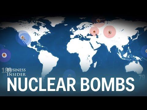 La mappa animata di tutte le esplosioni atomiche