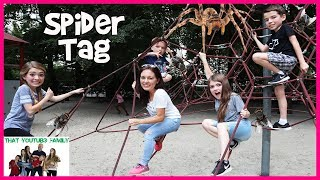 PLAYGROUND WARS!   Spider Tag  That YouTub3 Family | The Adventurers
