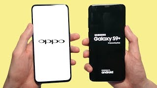 Oppo Find X vs Samsung Galaxy S9 Plus Speed Test, Speakers & Camera Test!