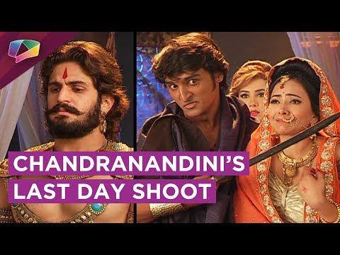 Chandranandini's Last Day Shoot   Bindusaar Help