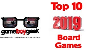 Top 10 Games of the Year (2019) with the Game Boy Geek