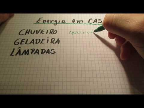 Economize energia em casa