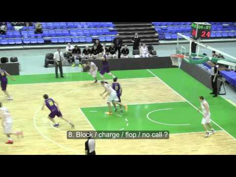 Basketball Rules Test / Referee Education - YouTube