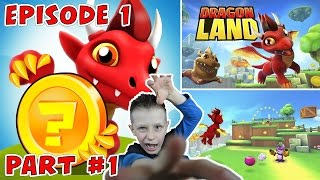 Let's Play Dragon Land, Dragon Adventure | Kid Gaming