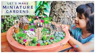 Miniature Gardens | How To Make Miniature Gardens Accessories | DIY Fairy Garden
