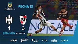 #TorneoSocios   Fecha 13   resumen de Central Córdoba - River