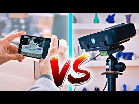 """Photogrammetry vs. """"Real"""" 3D Scanner"""
