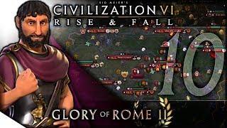 Download Video The Dawn Before the Dark | Civilization VI: Rise & Fall — Glory of Rome II 10 | Terra Emperor MP3 3GP MP4