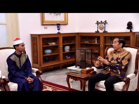 Presiden Undang Syamsuri Firdaus, Juara MTQ Internasional ke Istana, 28 Mei 2019